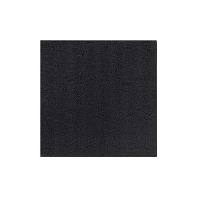 Serviettes de table jetables Dunilin - 40 x 40 cm- noir - paquet 45 unités