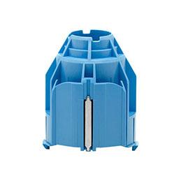 HP 3-in Core Adapter - Adapteur de support de papier rouleau pour imprimante - pour DesignJet HD Pro 2, T1600, T1700, T1708, T2300, T2600, T930, T940, Z6, Z6dr, Z9+, Z9+dr