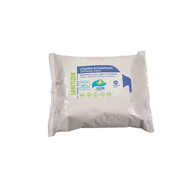 Lingettes désinfectantes mains objets surfaces - paquet de 30 lingettes - carton 48 x 30 unités (photo)