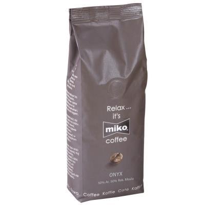 Paquet de 1 kg café moulu Miko Onyx 50% araBica 50% robusta (photo)