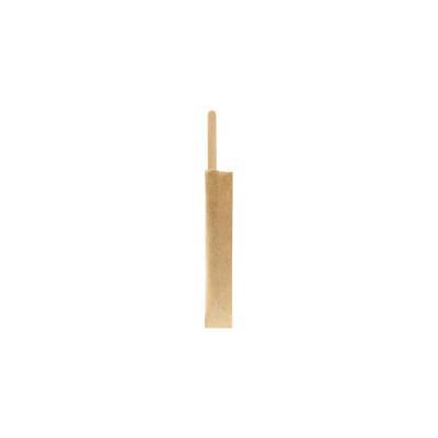Agitateur recyclable bois - 110 mm - paquet 100 unités (photo)