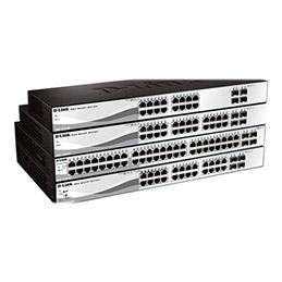D-Link Web Smart DGS-1210-20 - Commutateur - Géré - 16 x 10/100/1000 + 4 x Gigabit SFP - de bureau, Montable sur rack