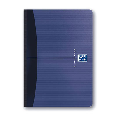 Carnet à spirale emboîté Oxford Office Essentials - A5 - couverture en carton souple - 192 feuilles - petits carreaux de 5 mm - couleurs assorties