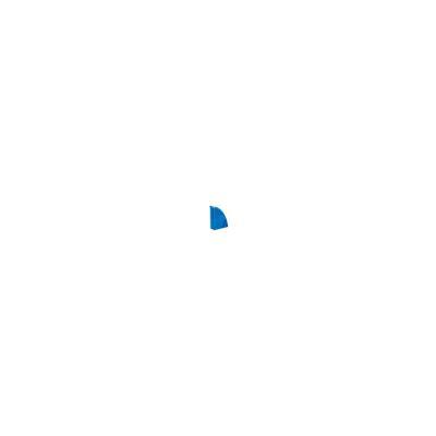 Porte-revues CEP Gloss - dos 8 cm - bleu océan