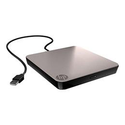 HPE Mobile - Lecteur de disque - DVD±RW (±R DL)/DVD-RAM - USB - externe - pour ProLiant DL360 Gen10, DL380 Gen10, DL385 Gen10, MicroServer Gen10, ML350 Gen10 (photo)