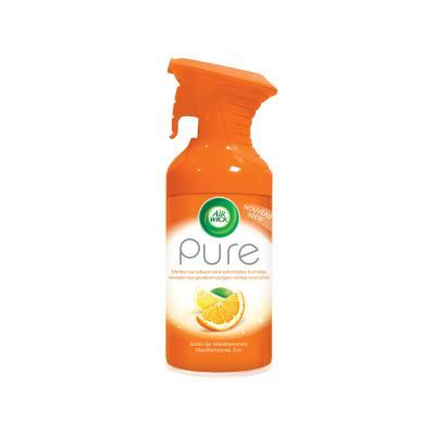 Désodorisant d'atmosphère Airwick Pure - 250 ml - formule sans eau - parfum concentré soleil de méditerranée (photo)