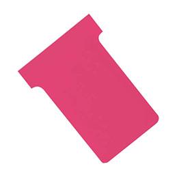 Fiches T planning Val-Rex - indice 1 - rose - paquet de 100 (photo)