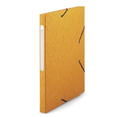 Chemise 1er prix 3 rabats et élastique - carte 5/10e - 24 x 32 cm - jaune