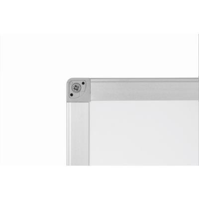 Tableau blanc Emaillé - magnétique - cadre aluminium - 60 cm x 90 cm