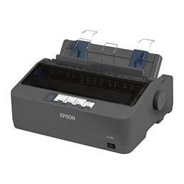 Epson LQ 350 - Imprimante - Noir et blanc - matricielle - 24 pin - jusqu'à 347 car/sec - parallèle, USB 2.0, série