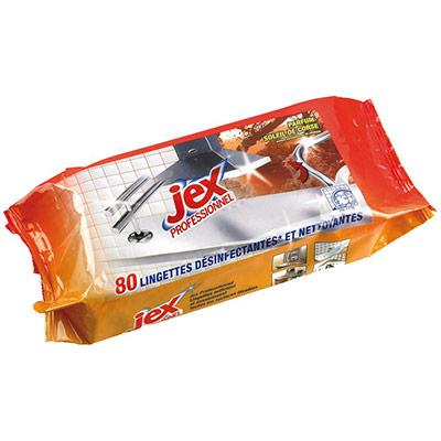 Professionnel - lingettes nettoyantes - Soleil de Corse - pack promo : 2 paquets de 80 lingettes + 1 OFFERT - paquet 3 unités