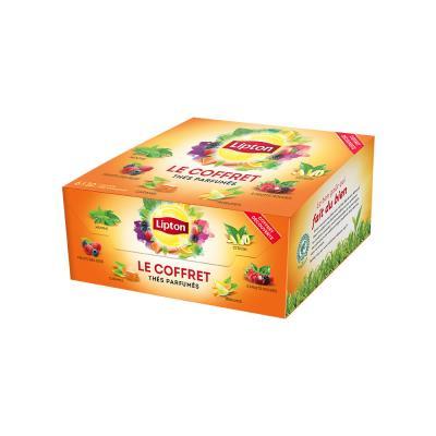 Coffret de 60 sachets de thé parfumé (photo)