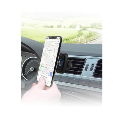 Support smartphone voiture - fixation magnétique pour grille d'aération
