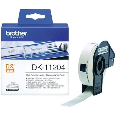 Brother DK-11204 - Papier thermique (photo)