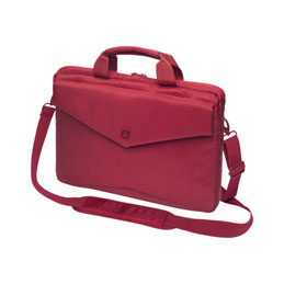 DICOTA Code SlimCase Laptop Bag 15' - Sacoche pour ordinateur portable - 15' - rouge - pour Apple MacBook Pro (15.4 po) (photo)