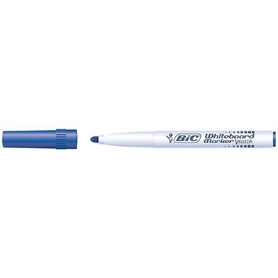 Marqueur Bic Velleda 1741 effaçable à sec - pointe ogive 2mm - bleu (photo)