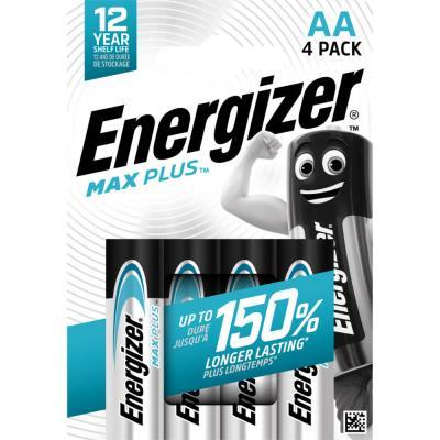 Piles Energizer Max Plus - AA - blister de 4 piles