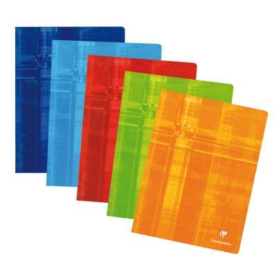 Cahier Clairefontaine Metric - reliure piquée - 24x32 cm - 96 pages - petits carrreaux - papier 90g