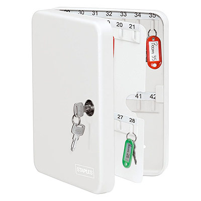 Armoire à clés - 42 clés - blanc
