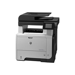 HP LaserJet Pro MFP M521dw - Imprimante multifonctions - Noir et blanc - laser - Legal (216 x 356 mm) (original) - A4/Legal (support) - jusqu'à 40 ppm (copie) - jusqu'à 40 ppm (impression) - 600 feuilles - 33.6 Kbits/s - USB 2.0, Gigabit LAN, Wi-Fi(n), hôte USB (photo)