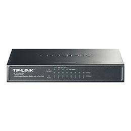 TP-Link TL-SG1008P - Commutateur - non géré - 4 x 10/100/1000 (PoE) + 4 x 10/100/1000 - de bureau - PoE