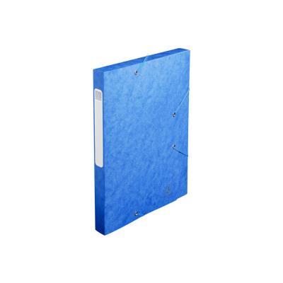 Boîte de classement Cartobox - dos 30 mm - 240 x 320 mm pour format A4 - bleu