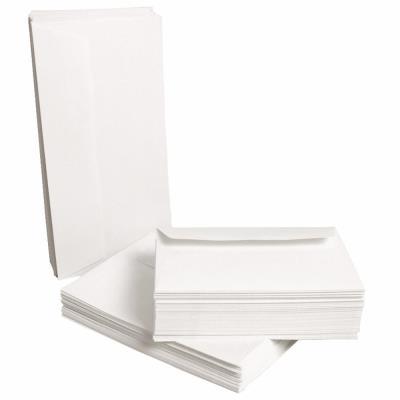 Enveloppe blanche recyclée Clairefontaine Forever DL 110 x 220 mm 80g - sans fenêtre bande autoadhésive - paquet 500 unités