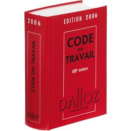 Code du travail Dalloz - édition 2018, 81ème édition (photo)
