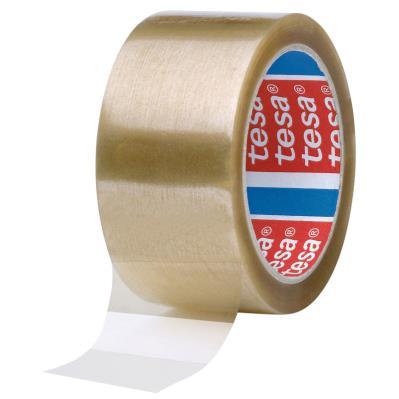 Ruban adhésif d'emballage tesapack polypropylène 46 microns - 50 mm x 66 m - transparent