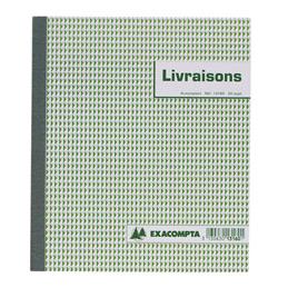Carnet de bons de livraison Manifold, 50 feuilles autocopiantes, 2 exemplaires sans carbone, 180 x 210 mm (bloc 50 feuilles) (photo)