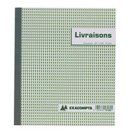 Carnet de bons de livraison Manifold, trois exemplaires, 50 feuilles tripli sans carbone, 210 x 180 mm (bloc 50 feuilles) (photo)