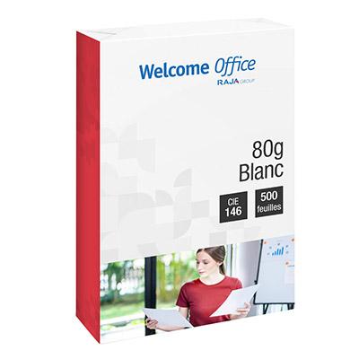 Papier blanc repro en promotion - 80 g - A4 - CIE 136 - ramette de 500 feuilles