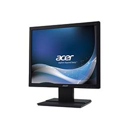 Acer V176Lbmd - Écran LED - 17' (17' visualisable) - 1280 x 1024 - TN - 250 cd/m² - 1000:1 - 5 ms - DVI-D, VGA - haut-parleurs - noir (photo)