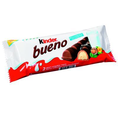 Barres chocolatées Bueno - paquet 30 unités