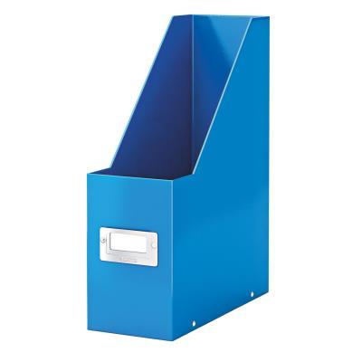 Porte-revues Leitz Click & Store en carton recouvert polypropylène - dos 10 cm - bleu