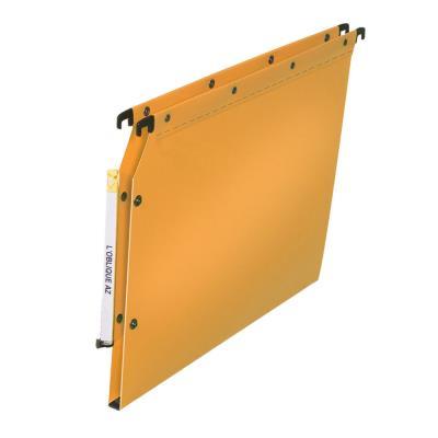 Dossiers suspendus pour armoires Elba - polypropylène - dos 15 mm - jaune