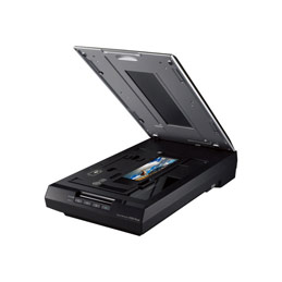 Epson Perfection V550 Photo - Scanner à plat - A4 - 6400 dpi x 9600 dpi - USB 2.0 (photo)