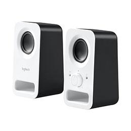 Logitech Z150 - Haut-parleurs - blanc