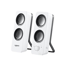 Logitech Z200 - Haut-parleurs - blanc (photo)