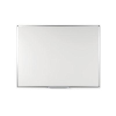 Tableau blanc Emaillé - magnétique - cadre aluminium - 45 cm x 90 cm