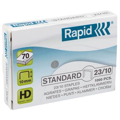 Agrafes Rapid Nº23/10 ou S9 - boîte de 1000