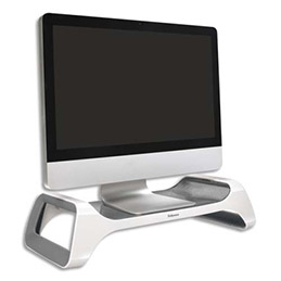 Support moniteur Fellowes I-Spire Series - gris/blanc (photo)
