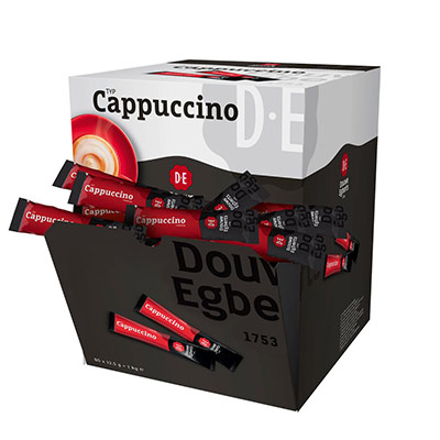 Cappuccino instantané - boite de 80 stics (photo)
