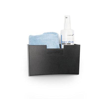 Porte-accessoires magnétique Legamaster pour tableaux en verre - noir