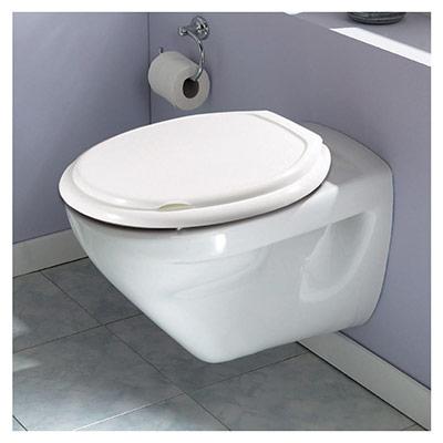 Abattant WC souple - blanc (photo)