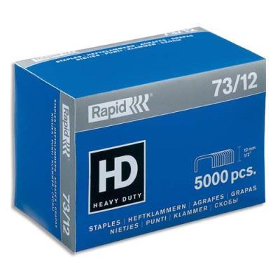 Agrafes Rapid Nº73/12 - boîte de 5000