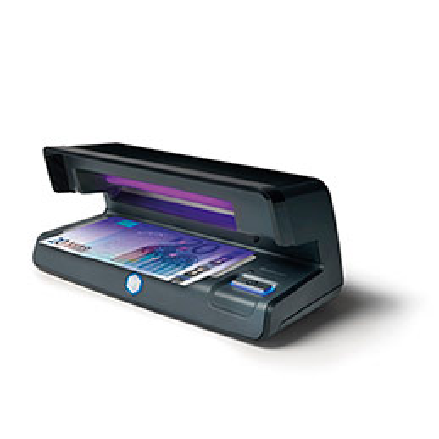 Détecteur de faux billets à lampe UV et lumière blanche Safescan 70 - noir (photo)
