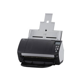 Fujitsu fi-7160 - Scanner de documents - Recto-verso - 216 x 355.6 mm - 600 dpi x 600 dpi - jusqu'à 60 ppm (mono) / jusqu'à 60 ppm (couleur) - Chargeur automatique de documents (80 feuilles) - jusqu'à 4000 pages par jour - USB 3.0 (photo)