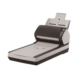 Fujitsu fi-7280 - Scanner de documents - Triple CCD - Recto-verso - 216 x 355.6 mm - 600 dpi x 600 dpi - jusqu'à 80 ppm (mono) / jusqu'à 80 ppm (couleur) - Chargeur automatique de documents (80 feuilles) - jusqu'à 6000 pages par jour - USB 3.0 (photo)