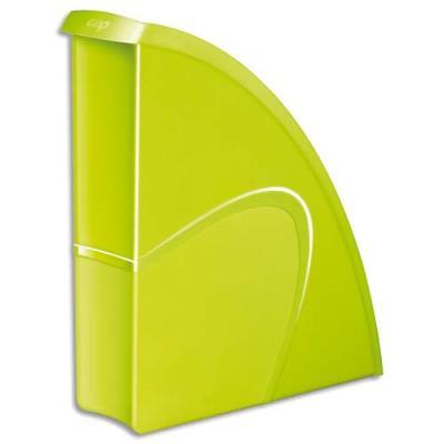 Porte-revues CEP Gloss - dos 8 cm - vert anis (photo)